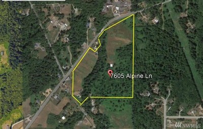 Sedro Woolley Residential Lots & Land For Sale: 7605 Alpine Lane