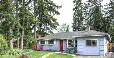 Bothell Single Family Home For Sale: 8811 NE 189th Place