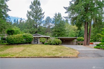 Bellevue Single Family Home For Sale: 1 129th Ave SE