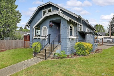 Seattle Single Family Home For Sale: 8717 S 117th St