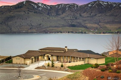Chelan Single Family Home For Sale: 100 Mira Vista Dr
