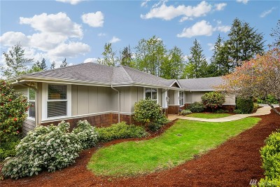 Woodinville Single Family Home For Sale: 14427 232nd Ave NE