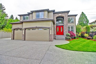 Bothell Single Family Home Contingent: 19411 100th Ave NE