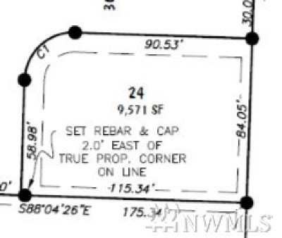 Lynden WA Residential Lots & Land For Sale: $147,500