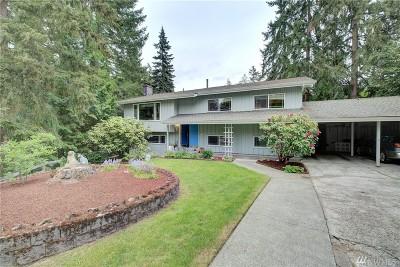 Bellevue Single Family Home For Sale: 16797 SE 21st Place