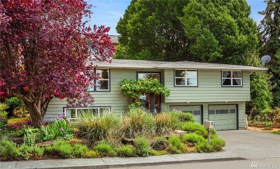 Renton Single Family Home For Sale: 1208 Dayton Ave NE