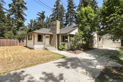 Seattle Single Family Home For Sale: 13710 Stone Ave N