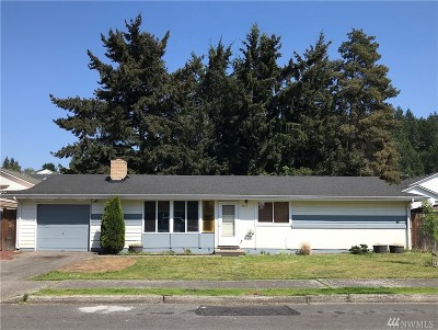 Auburn WA Single Family Home For Sale: $260,000