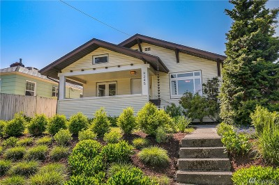 Seattle Single Family Home For Sale: 9245 18th Ave SW
