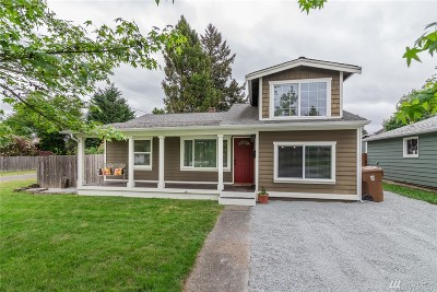Tacoma WA Single Family Home For Sale: $289,000