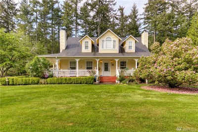 Port Orchard Single Family Home For Sale: 2775 SW Bag End Wy