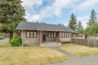 Tacoma Single Family Home For Sale: 3715 S 31st St