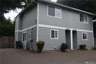 Seattle Single Family Home For Sale: 1261 N 145th St