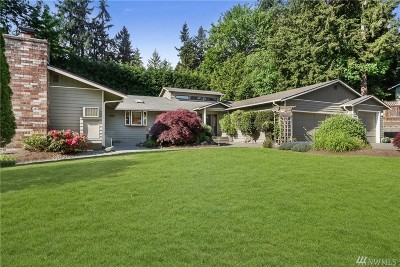 Redmond Single Family Home For Sale: 16920 NE 100th St