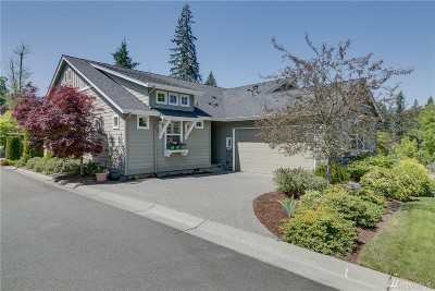 Redmond Single Family Home For Sale: 12727 Adair Creek Wy NE