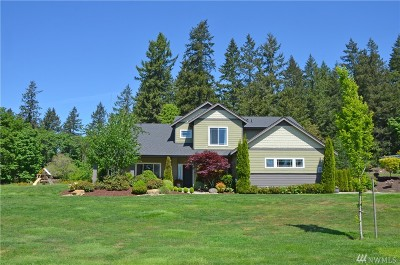 Gig Harbor Single Family Home For Sale: 9611 39th St Ct NW