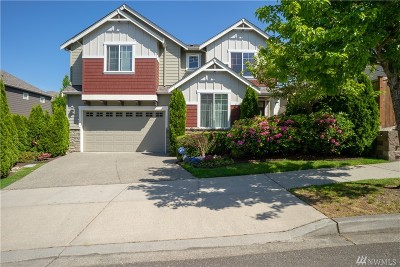 Bothell Single Family Home For Sale: 4011 167th St SE