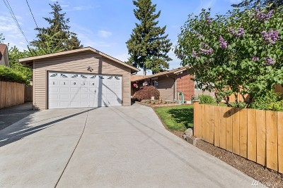 Renton Single Family Home For Sale: 11916 SE 165th St