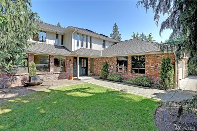 Woodinville Single Family Home For Sale: 20612 NE 142nd St