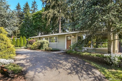 Kirkland Single Family Home For Sale: 12219 NE 66th St