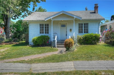 Tacoma Single Family Home For Sale: 4523 N Ferdinand St
