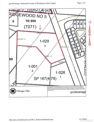 Bothell Residential Lots & Land For Sale: 16512 35th Ave SE