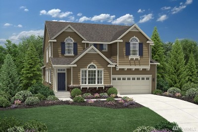 Sammamish Single Family Home For Sale: 1618 246th Place NE #Lot65