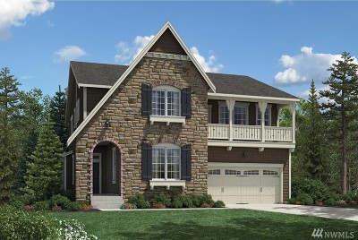 Sammamish Single Family Home For Sale: 1626 246th Place NE #Lot66