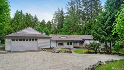 Woodinville Single Family Home For Sale: 17006 172nd Place NE