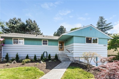 Seattle Single Family Home For Sale: 3101 104th St