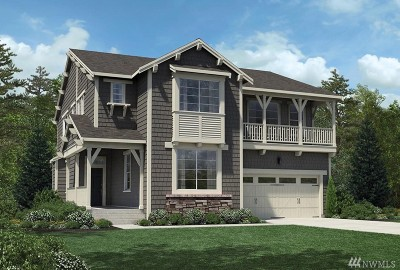 Sammamish Single Family Home For Sale: 24600 NE 16th St #Lot80