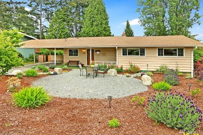 Bellevue Single Family Home For Sale: 154 163rd Place SE