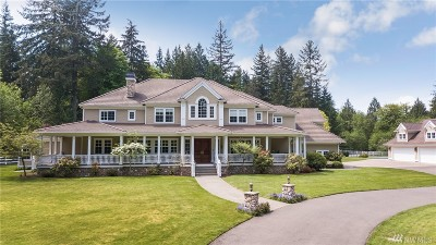 Woodinville Single Family Home For Sale: 14725 232 Ave NE