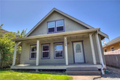 Single Family Home For Sale: 1725 Iron St