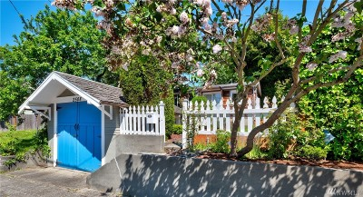 Seattle Single Family Home For Sale: 2508 NW 67th St