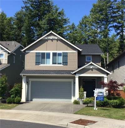 Thurston County Single Family Home For Sale: 4032 Campus Willows Lp NE