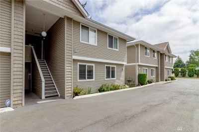 Auburn WA Condo/Townhouse For Sale: $184,900