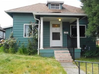 Tacoma WA Single Family Home For Sale: $160,000