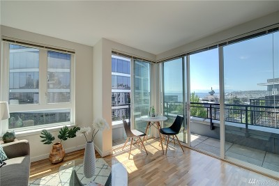Seattle Condo/Townhouse Sold: 3104 Western Ave #608