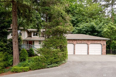 Woodinville Single Family Home For Sale: 15127 NE 177th Dr