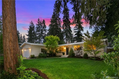 Bellevue Single Family Home For Sale: 1615 151st Ave SE