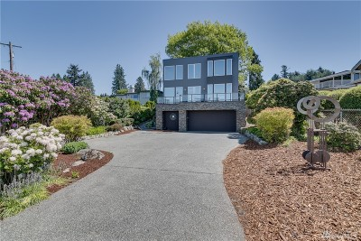 Edmonds Single Family Home For Sale: 19017 Sound View Place