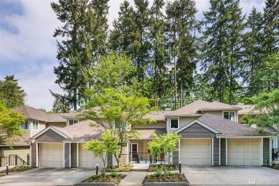 Issaquah Condo/Townhouse For Sale: 5000 Village Park Dr NE #B212