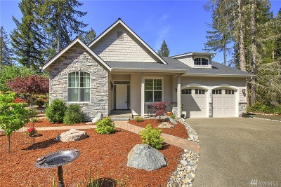 Mason County Single Family Home For Sale: 134 E Madrona Lane