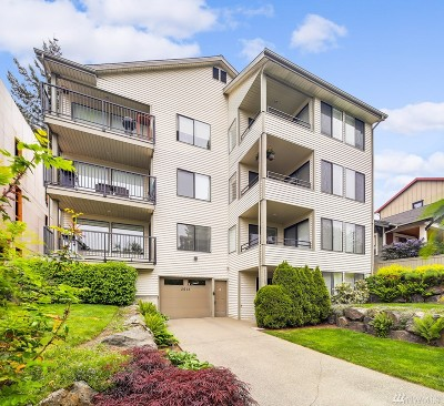 Seattle Condo/Townhouse Sold: 3615 Whitman Ave N #202