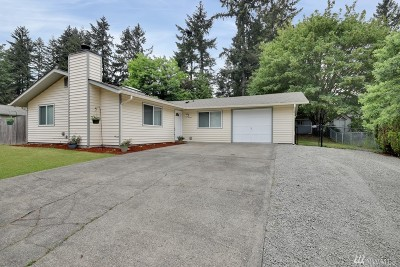 Puyallup WA Single Family Home For Sale: $275,000