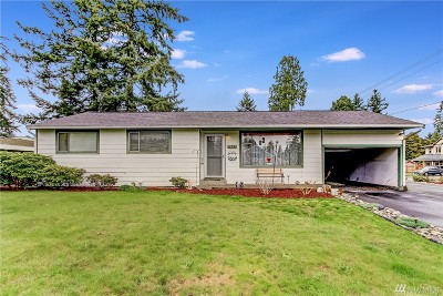 Edmonds Single Family Home For Sale: 7607 234th St SW