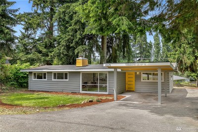 Bellevue Single Family Home For Sale: 4525 150th Place SE