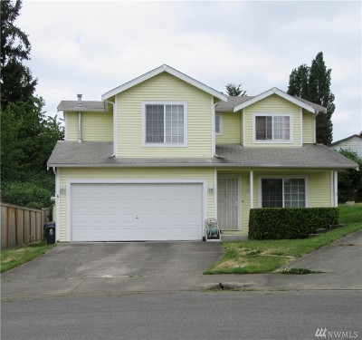 Tacoma Single Family Home For Sale: 1675 S 58th St Ct