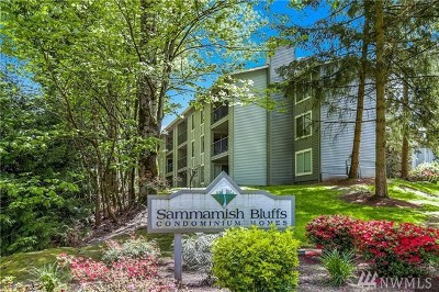 Issaquah Condo/Townhouse For Sale: 4737 W Lake Sammamish Pkwy SE #A302
